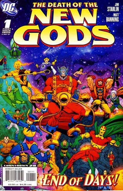 Death of New Gods 1 cover