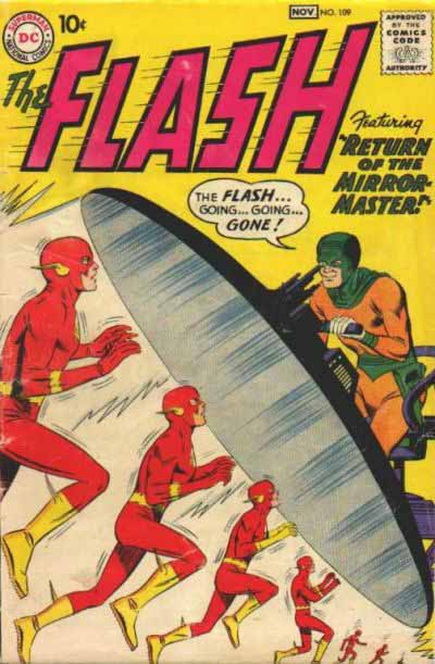The Flash 109 cover