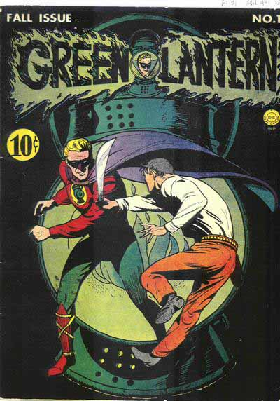 Golden Age Green Lantern 1 cover