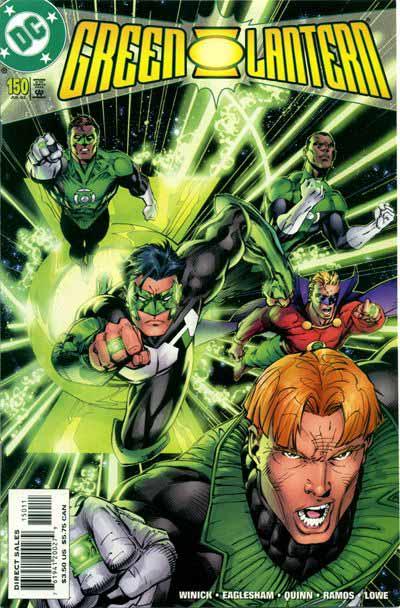 Green Lantern 150 cover