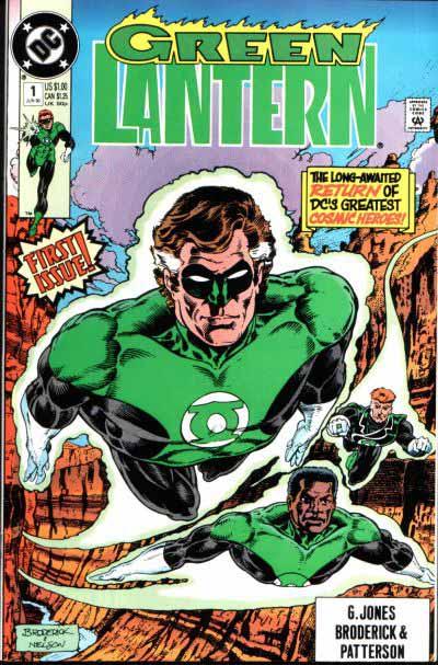Green Lantern 1 cover