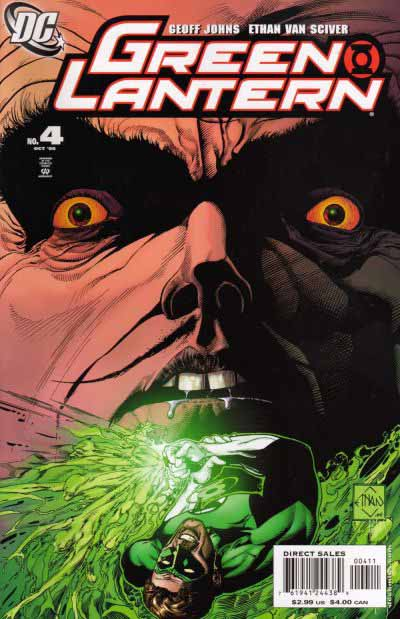 Green Lantern 4 cover
