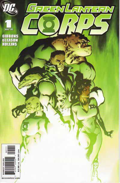 GL Corps 1 cover