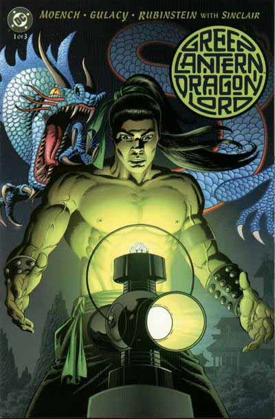 Green Lantern, Dragon Lord 1 cover