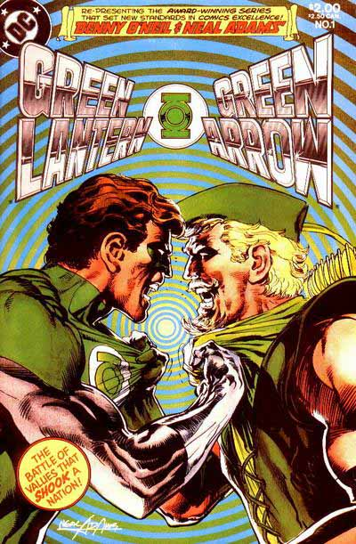 Green Lantern Green Arrow 1 cover