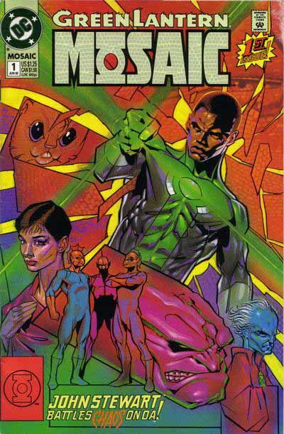 Green Lantern Mosaic 1 cover