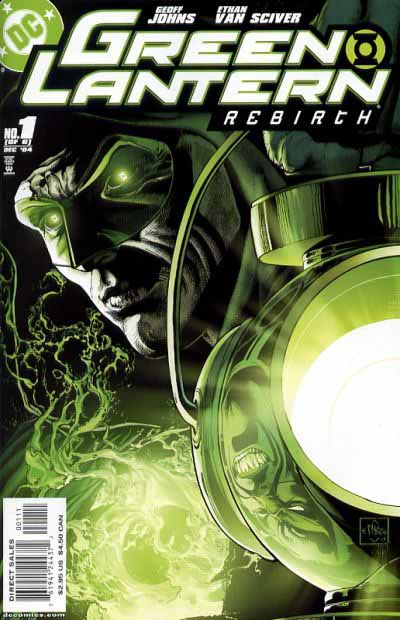 Green Lantern Rebirth 1 cover