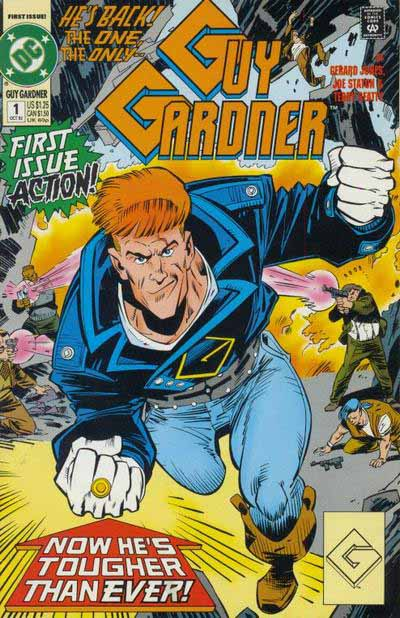 Guy Gardner 1 cover