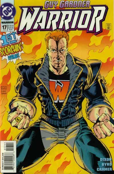 Guy Gardner Warrior 17 cover