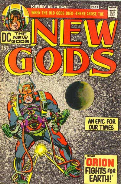 New Gods 1 cover