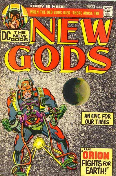 New Gods 1 cover
