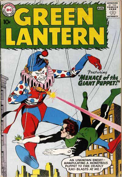 Silver Age Green Lantern 1 cover