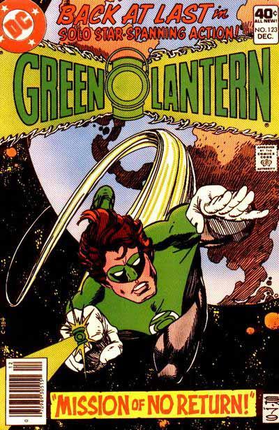Green Lantern 123 cover