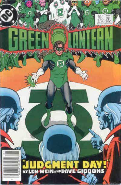 Green Lantern 172 cover
