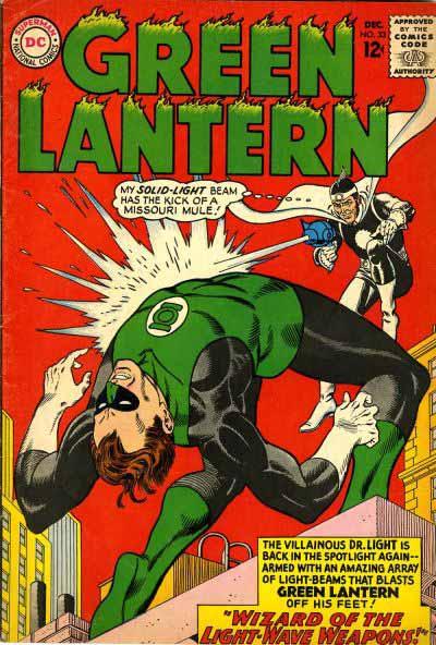 Silver Age Green Lantern 33 cover