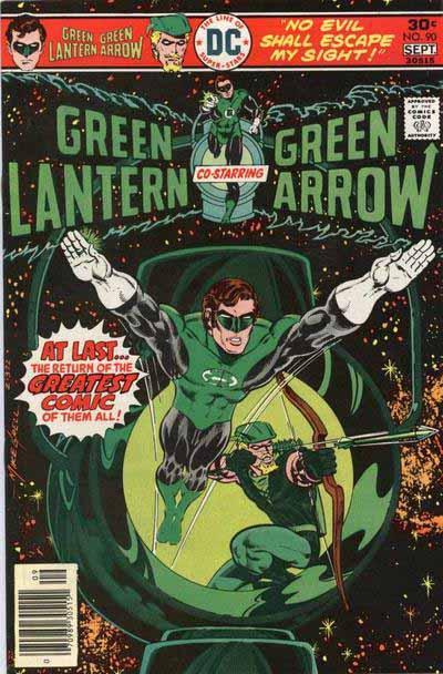 Green Lantern 90 cover