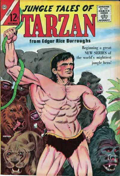 Charlton Jungle Tales of Tarzan 1 cover