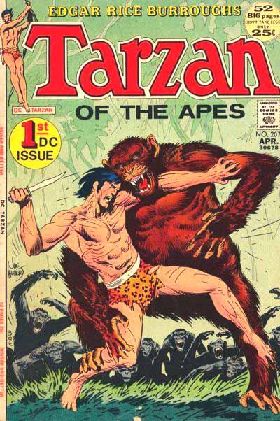DC Tarzan 207 cover