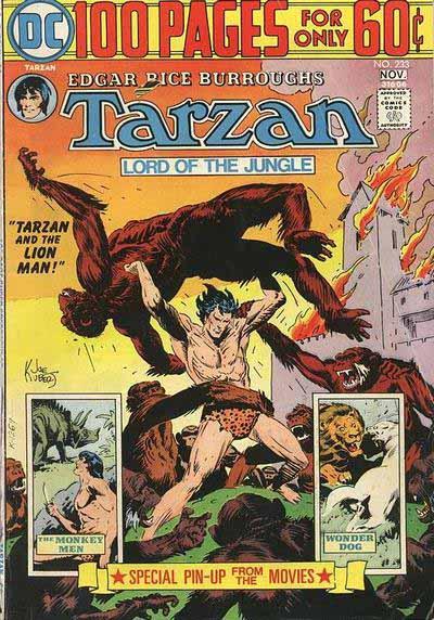 DC Tarzan 233 cover