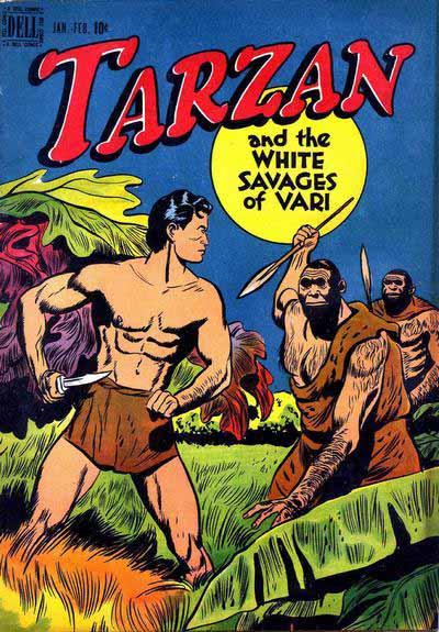 Dell Tarzan 1 cover