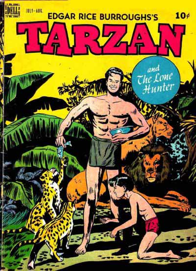 Dell Tarzan 4 cover