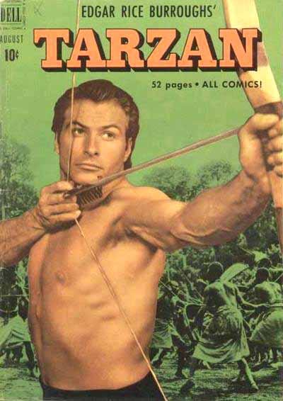 Dell Tarzan 23 cover