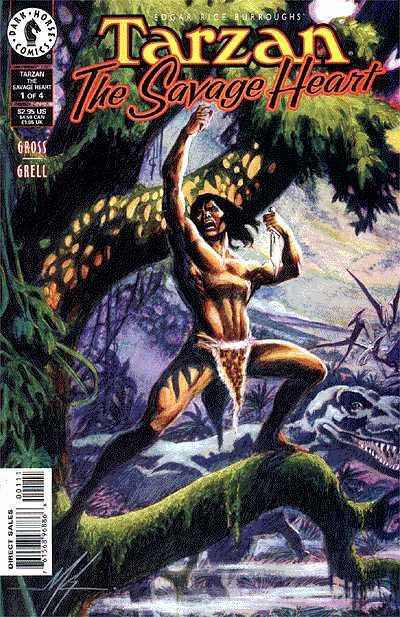 DH Tarzan Mini-series 1 cover