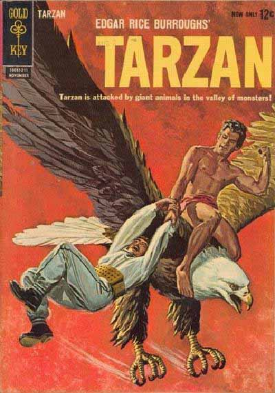 Gold Key Tarzan 132 cover