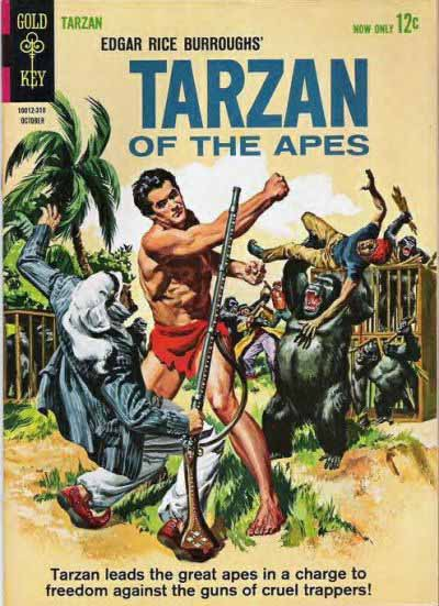 Gold Key Tarzan 138 cover