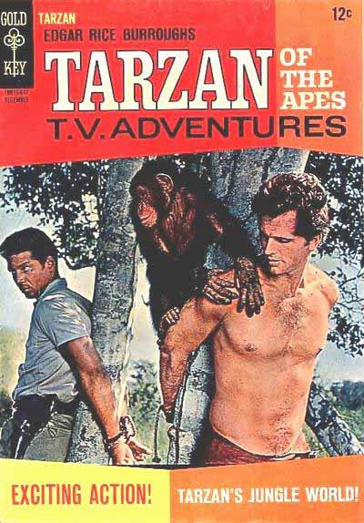 Gold Key Tarzan 162 cover