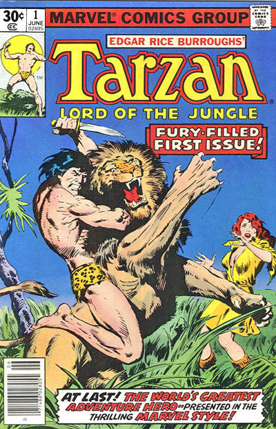 Marvel Tarzan 1 cover