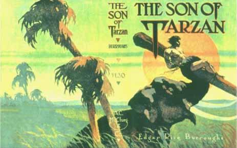 Son of Tarzan dust jacket