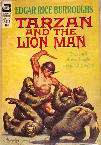Ace Tarzan paperback cover