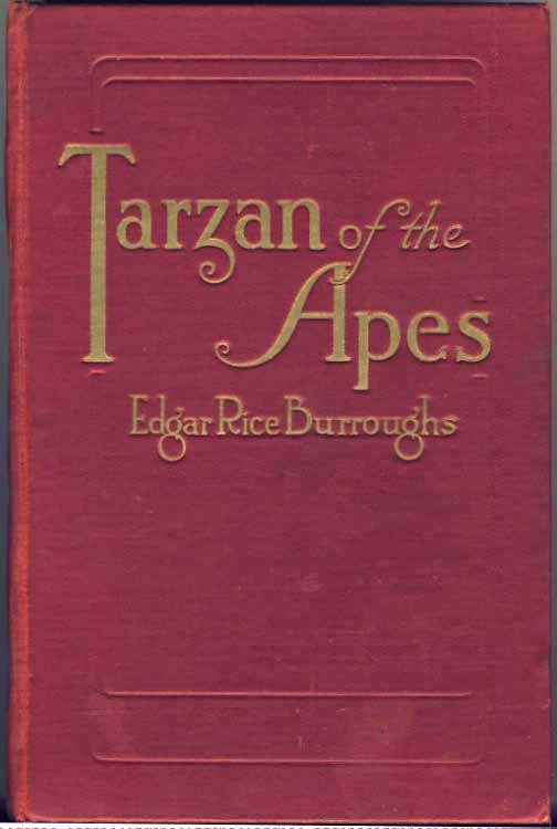 Tarzan of the Apes front cover