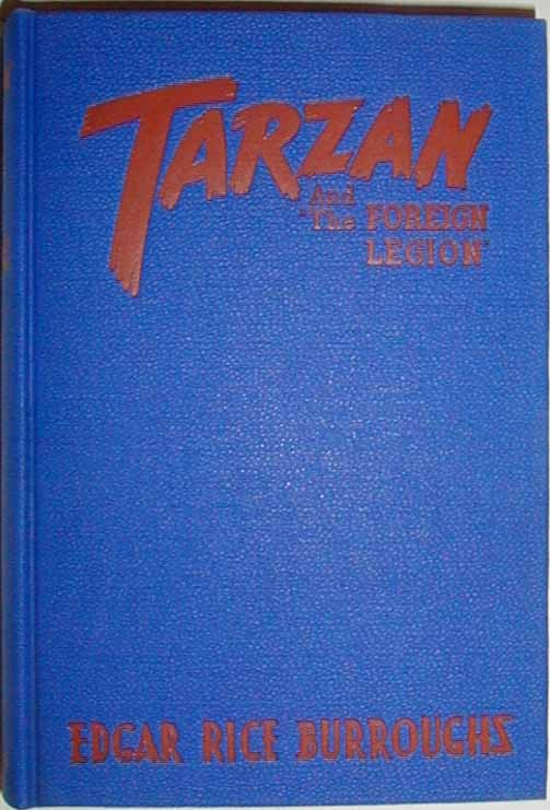 Tarzan and the Foreign Legion front cover