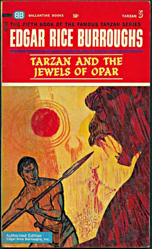 Ballantine Tarzan paperback cover