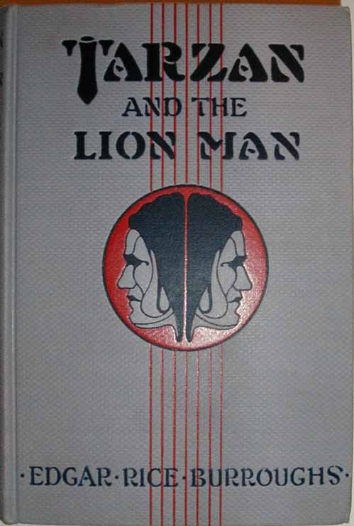 Tarzan and the Lion Man front cover