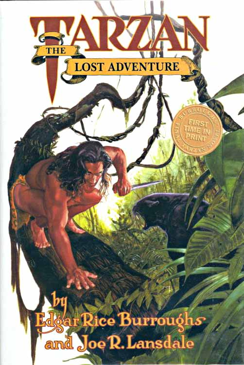 Tarzan Lost Adventure book cover