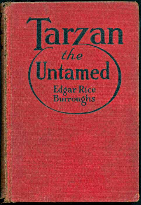 Tarzan the Untamed front cover