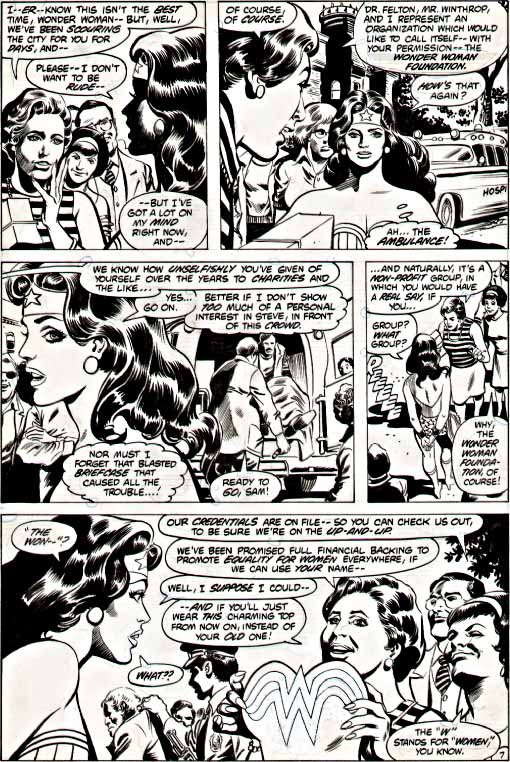 DC Comics Presents 41 WW insert page 7