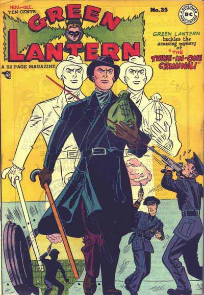Golden Age Green Lantern 135 cover