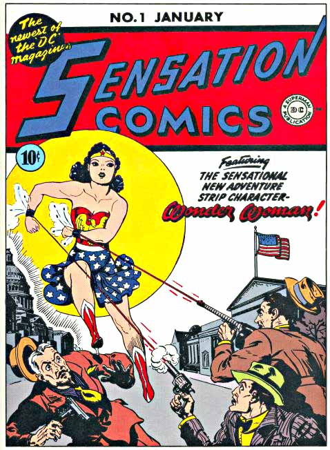 Sensation Comics 1 cover