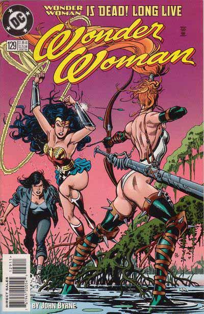 Wonder Woman 129 cover