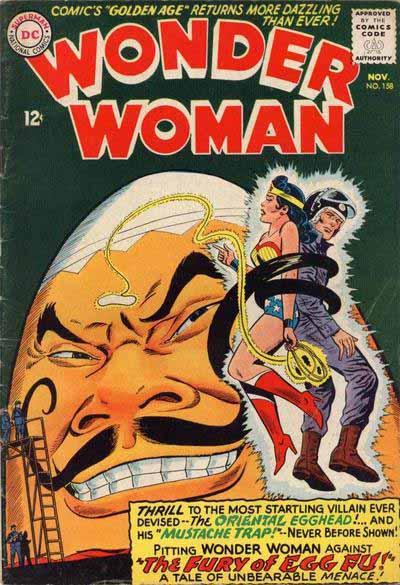Wonder Woman 158 cover