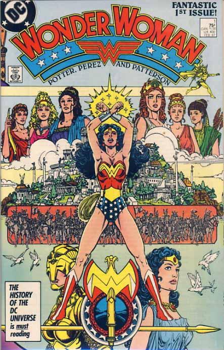 Wonder Woman 1 1987 cover