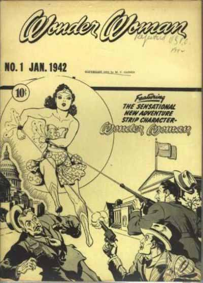 Wonder Woman 1 ashcan cover
