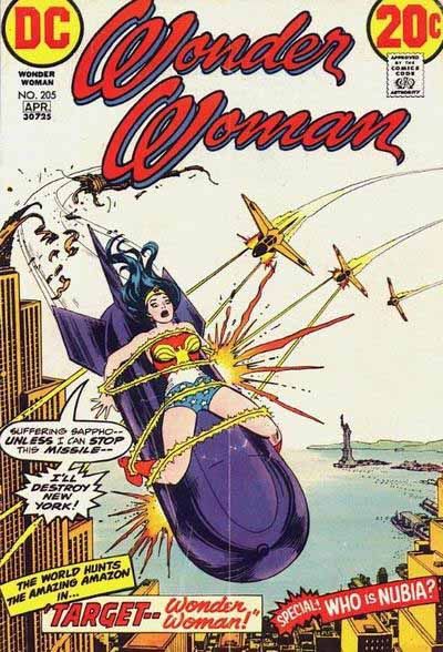 Wonder Woman 205 cover
