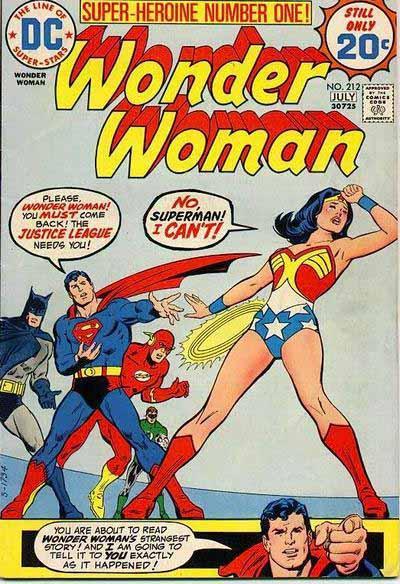 Wonder Woman 212 cover