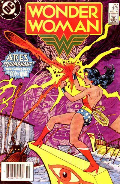 Wonder Woman 310 cover