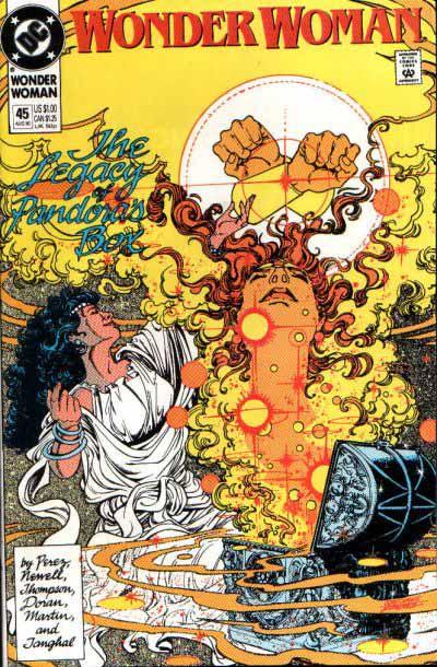Wonder Woman 45 cover